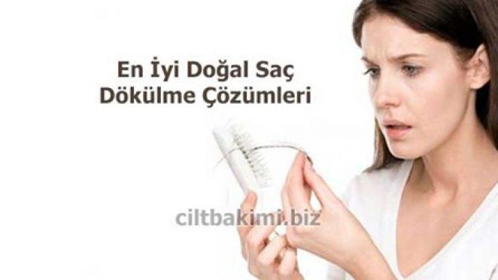 Saç Dökülmesine Çözüm En İyi Doğal Saç Dökülme Çözümleri