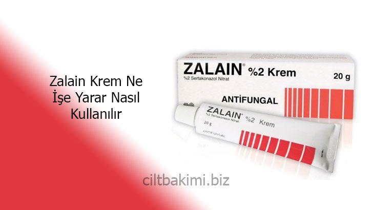 Zalain Krem Ne İşe Yarar Nasıl Kullanılır
