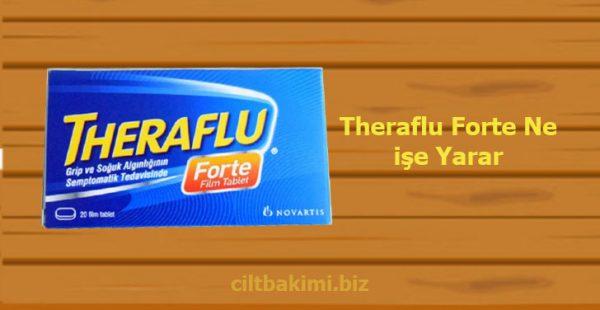 Theraflu Forte Ne işe Yarar